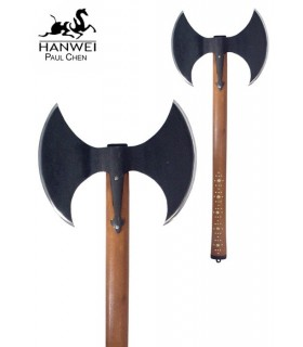 Double-bladed ax, functional