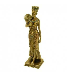 Egyptian Queen figure with fan