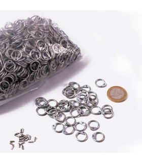 galvanized mesh bag rings dimension, 9 mm.