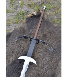 Flaming Sword 2 hands, 147 cms.
