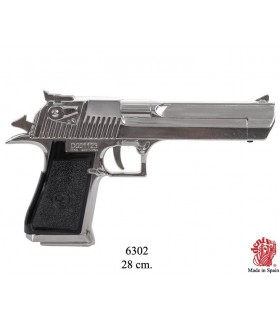 Semiautomatic pistol nickel USA, Israel 1982