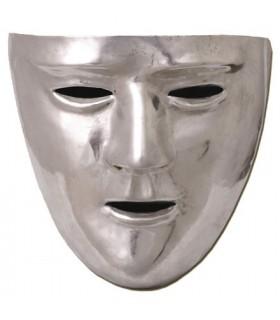 Roman mask, brass