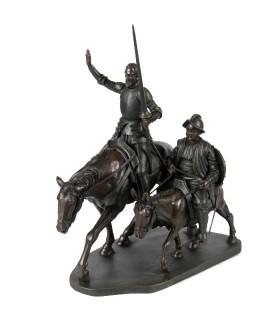 Quixote and Sancho miniature horse