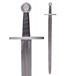 Training sword with scabbard