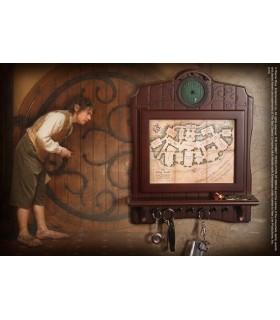 Llavero mural mapa Bolsón, Hobbit
