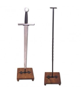 Vertical stand for sword