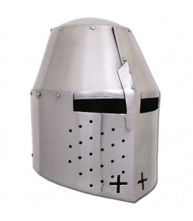 Casco medieval inglés Pembridge, año 1370