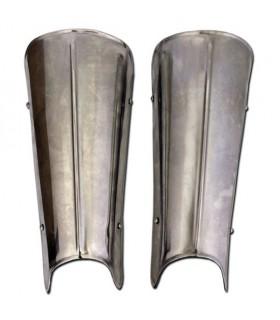 Greaves metal straps