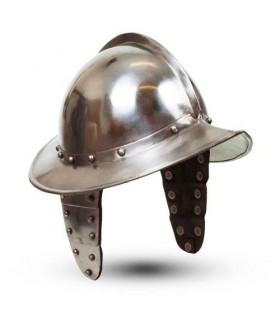 Morion helmet with wings