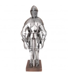 Miniature medieval armor, 71 cms.