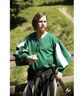 Renaissance, green-white shirt soldier