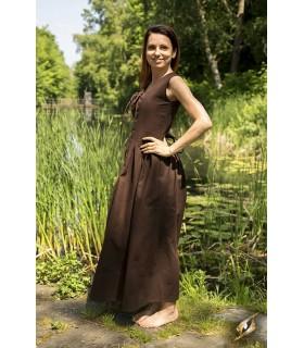 Medieval lace vest woman