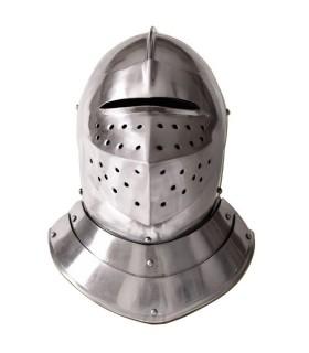 English medieval helmet, s. XVI