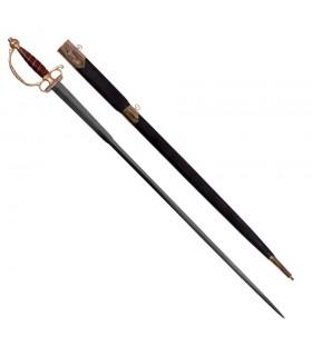 European sword with scabbard, XVIII century