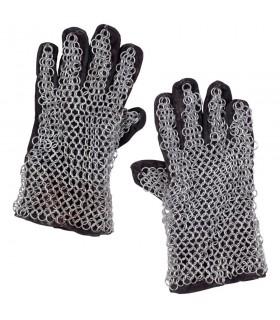 Galvanized mesh gloves dimension