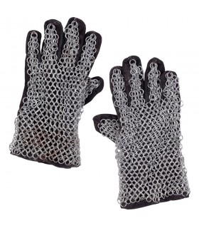 Galvanized mesh gloves dimension