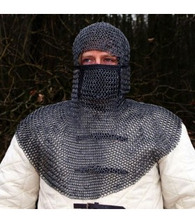 Verdugo chainmail, natural size