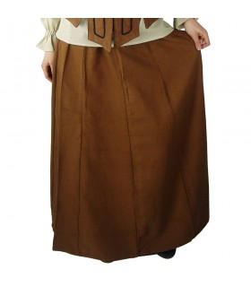 Snuff medieval skirt woman