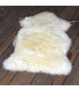 Lambskin, natural white