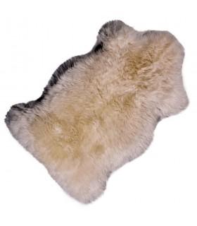Piel de cordero, blanco natural