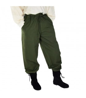 Medieval soft green pants