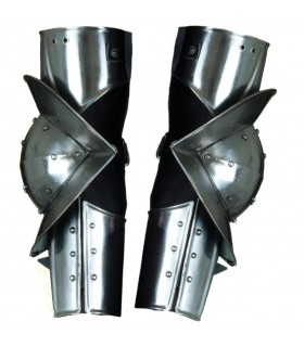 Gothic medieval armor articulated arms