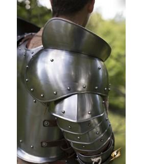 Hombreras guerrero medieval