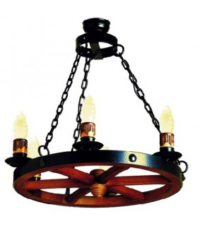 forging wheel lamp, 6 lights
