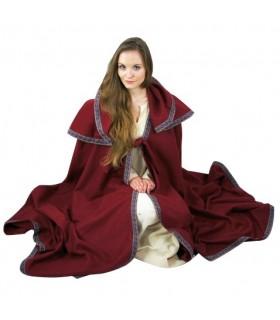 medieval wool coat hood
