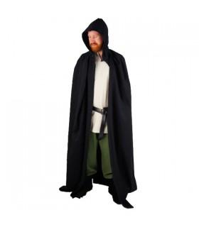 Medieval long black coat