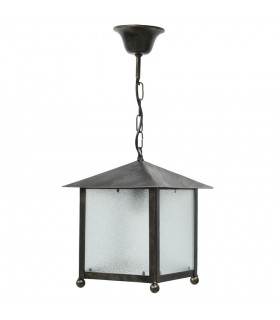 Farol iron plate with hood