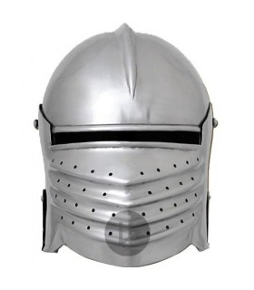 Italian nasal functional helmet, s. XII