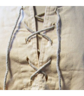 Medieval shirt thick laces