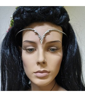 Tiara with glass beads