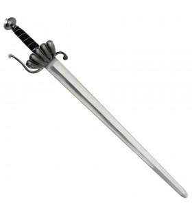 Baroque sword cuts functional, 75 cms.