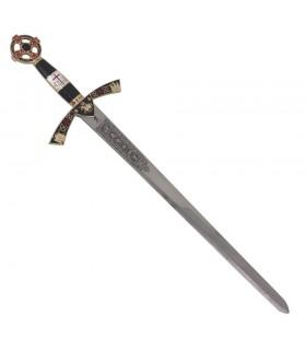 Sword Templar decorated cadet. 76 cms.