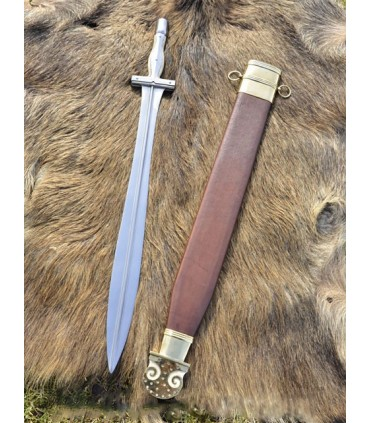 Sword Hoplite Campovalano with sheath