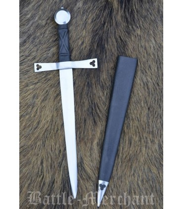Gothic Dagger with Scabbard
