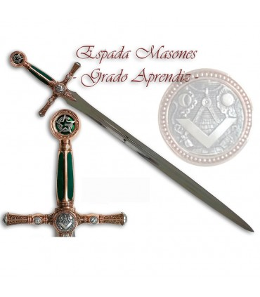 Mason Sword.- Apprentice Degree