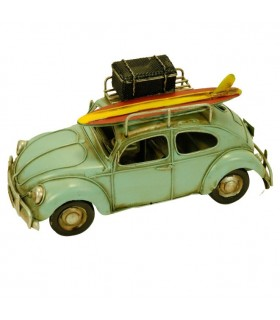 Miniature beetle green car