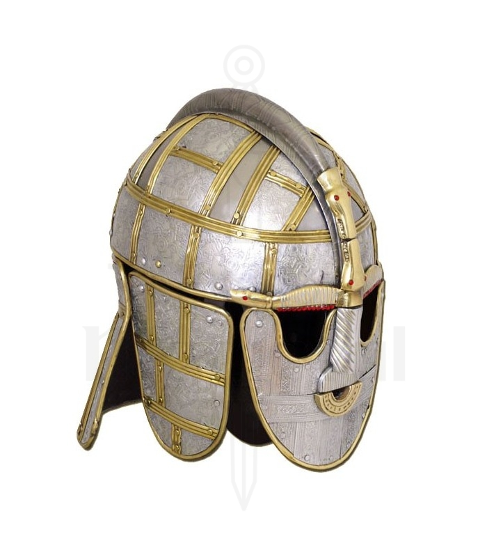 Sutton Hoo Helmet. Viking Helm...