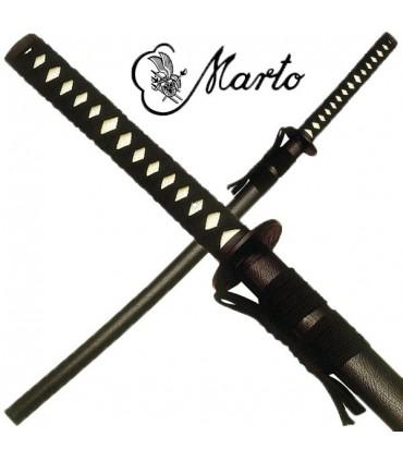 Marto black katana