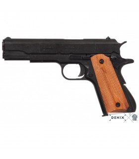 Black M1911 automatic pistol, USA, 1911