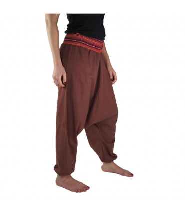 Wide pants Jessie, red marsala