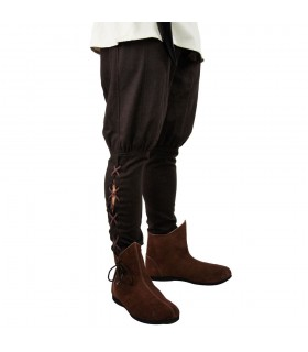 Knee Viking Hemp Pants  Pants - Costumes man - Garments