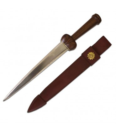 Testicular dagger with scabbard