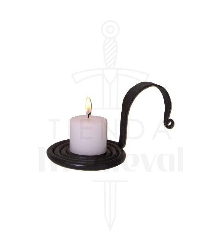Candelero forjado a mano  sc 1 st  Medieval Shop & Candle holder forged by hand - Medieval Shop