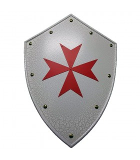 Shield Cross Knights of the Temple