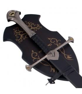 Espada Fantástica con vaina y soporte, 135 cms.