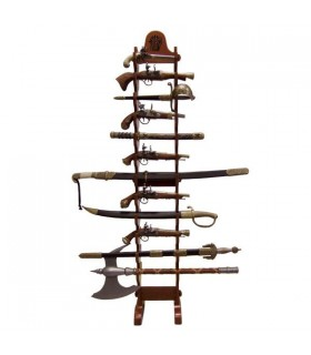 Expositor 24 guns hanging (162 cms.)